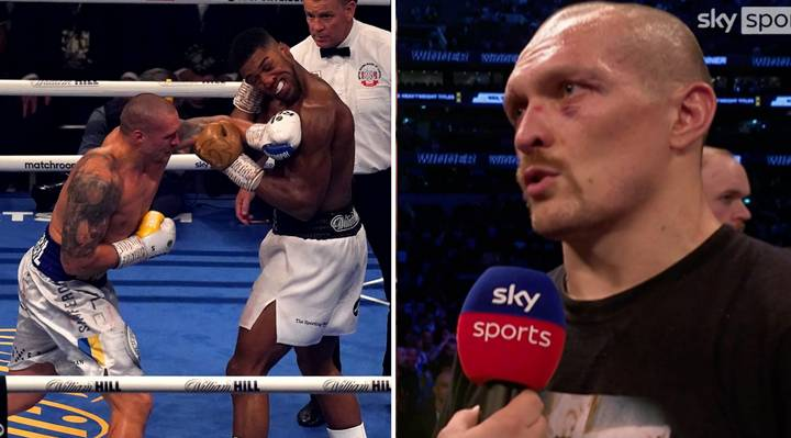 Oleksandr Usyk Reveals He Was Talked Out Of Knocking Anthony Joshua Out