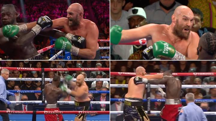 A Four Minute Compilation Of Every Clean Punch Tyson Fury Threw At Deontay Wilder