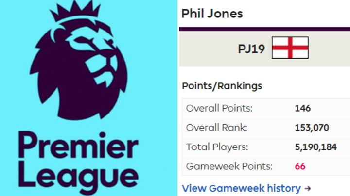 The FPL Teams Of Luke Shaw, Chris Smalling And Phil Jones Emerge Online
