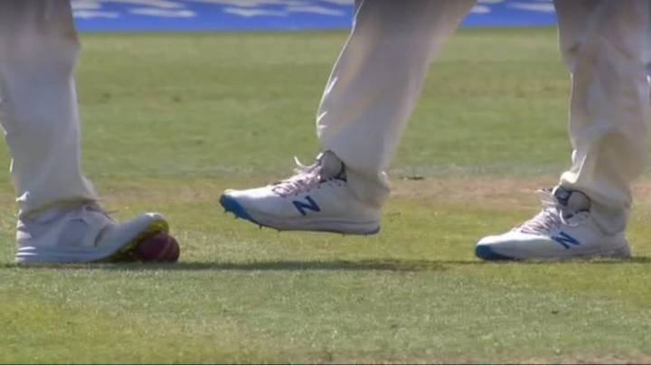 England Cricketer Forced To Defend 'Ball Tampering' Claims As Screenshot Goes Viral