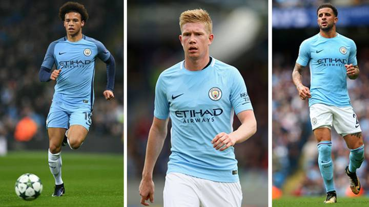 De Bruyne Makes His Prediction For Sane And Walker's Race