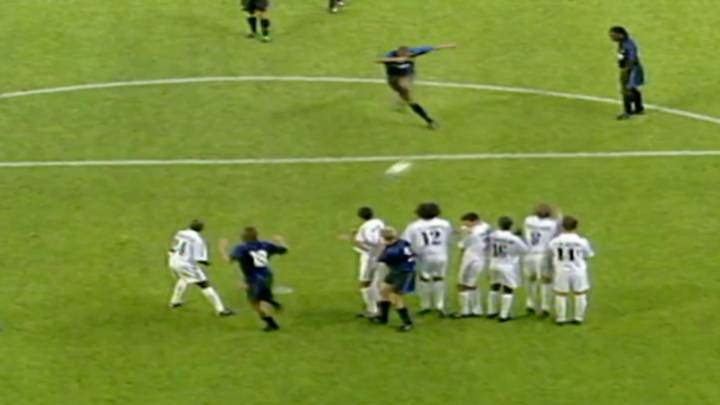 When Adriano Nearly Broke The Net Against Real Madrid In 2001