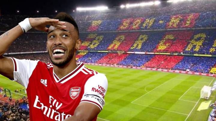 Barcelona Want To Sign Pierre-Emerick Aubameyang To Replace Luis Suarez