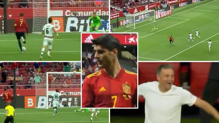 Fans Ruthlessly Chant 'Alvaro Morata, How Bad You Are' After HUGE Miss Against Portugal In Injury Time