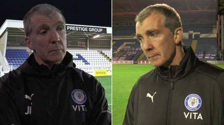 Stockport Manager Refused To Do Sky Sports Interviews Because They Never Fixed His Skybox