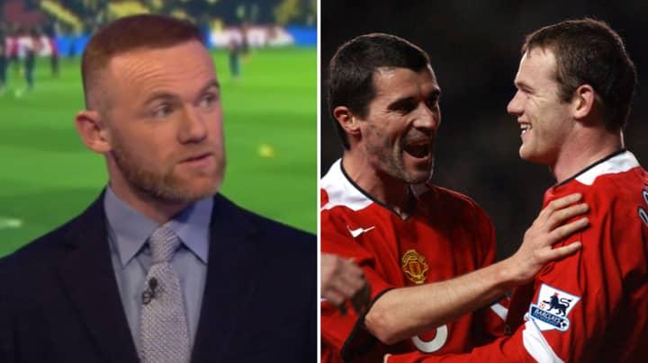 Wayne Rooney Tells Brilliant X-Factor Story About Roy Keane
