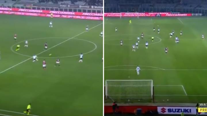 Atalanta Midfielder Josip Ilicic Scored A Brilliant Quick Free-Kick In 7-0 Rout