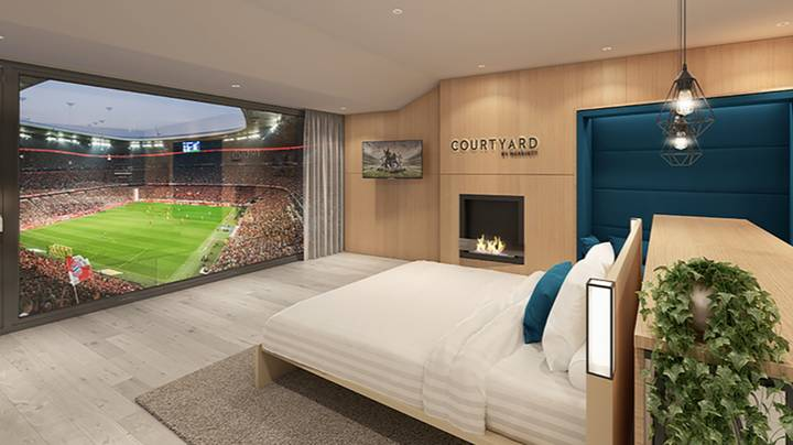 Bayern's Allianz Arena Has The Most Amazing Hotel Room Inside The Stadium