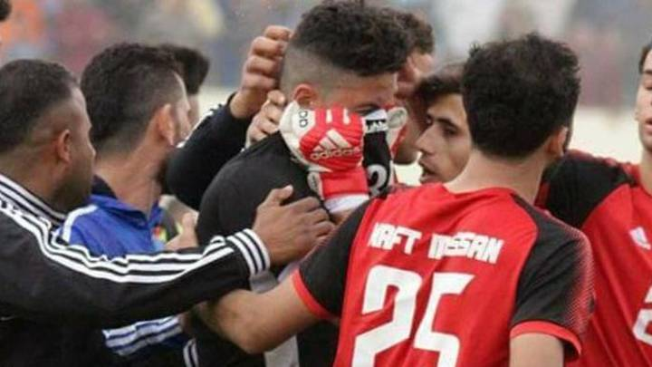 Alaa Ahmed Plays In Iraq Premier League Game The Day After His Son's Death