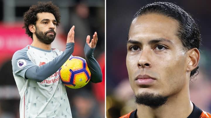 Virgil Van Dijk Explains The Real Reason Why Mo Salah Hasn't Been Celebrating Liverpool Goals