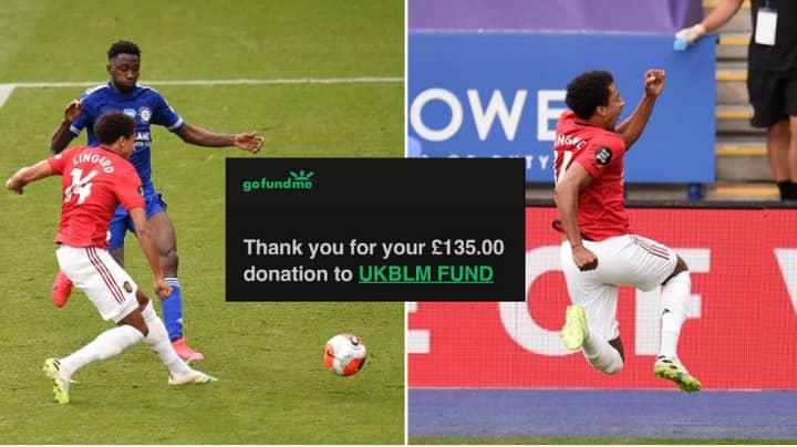 Paddy Power Paid Out Fan's Jesse Lingard Bet, Donates Winnings To Black Lives Matter Movement