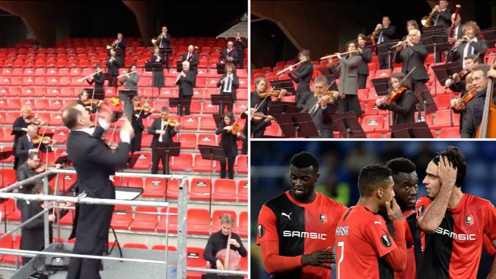 The Brittany Orchestra Play Champions League Anthem For Stade Rennais And It'll Give You Goosebumps