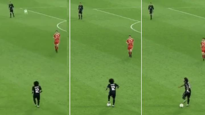 Marcelo Stopping The Ball Dead From A Cross-Field Pass Is Still The Most Satisfying Touch Ever