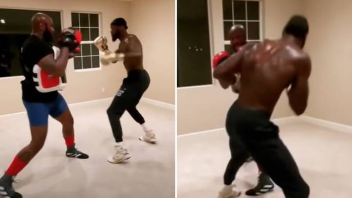 Deontay Wilder Impresses Fans With Latest Training Video