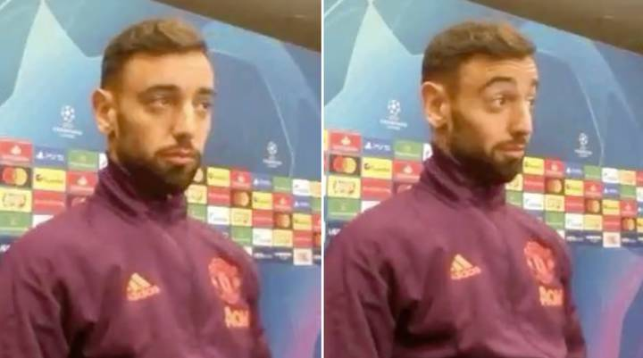 Bruno Fernandes' Hilarious Reaction To Finding Out He Will Captain Man United For PSG Clash