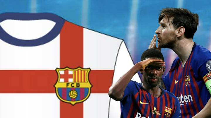 Barcelona Reject White Away Kit For 2019/20 Season Proposed By Nike