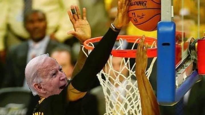 LeBron James' Hilarious Reaction To Joe Biden's Election Victory Goes Viral