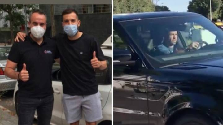 Jordi Alba Can Now Drive Himself To Training After Obtaining Driver's Licence Aged 31