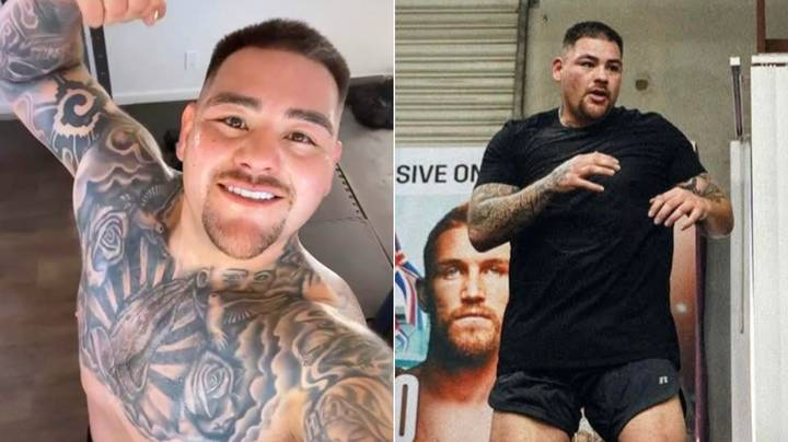 Andy Ruiz Jr Has Never, Ever Skipped Leg Day As He Shows Off Remarkable Body Transformation
