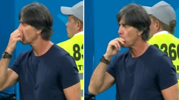 Germany Manager Joachim Low Was At It Again On The Touchline