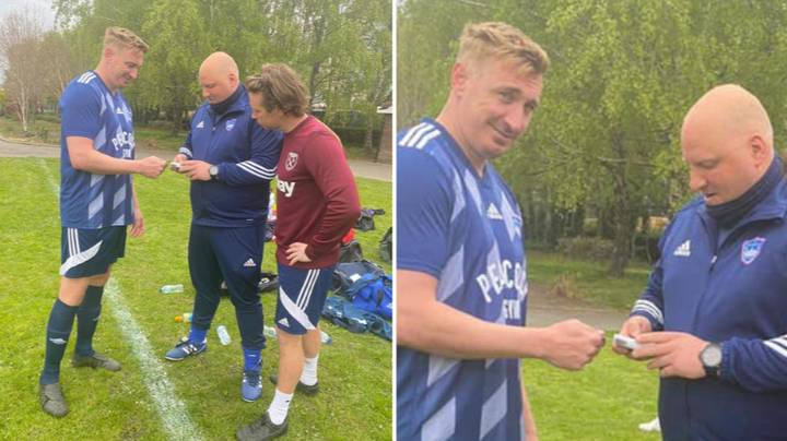 Sunday League Manager Invests In Card Machine To Keep On Top Of Match Fees