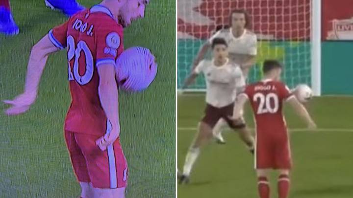 Arsenal Fans Are Furious That Diogo Jota's First Liverpool Goal Was Not Ruled Out