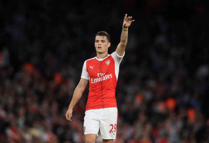 Granit Xhaka Posts Message Ahead Of Champions League Reunion Clash With Basel