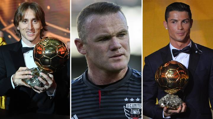 Wayne Rooney Would Have Voted For Cristiano Ronaldo For The 2018 Ballon D'Or
