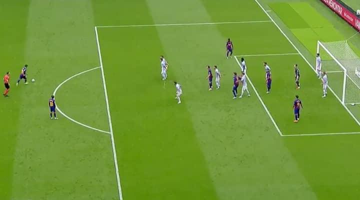 Lionel Messi Pulls Off Genius Assist From Free-Kick Against Celta Vigo
