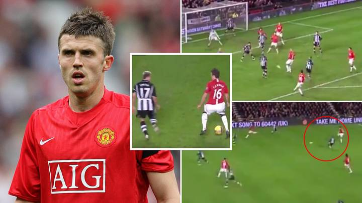 One Of Michael Carrick's Most Influential Manchester United Performances Has Gone Viral, It's A Midfield Masterclass