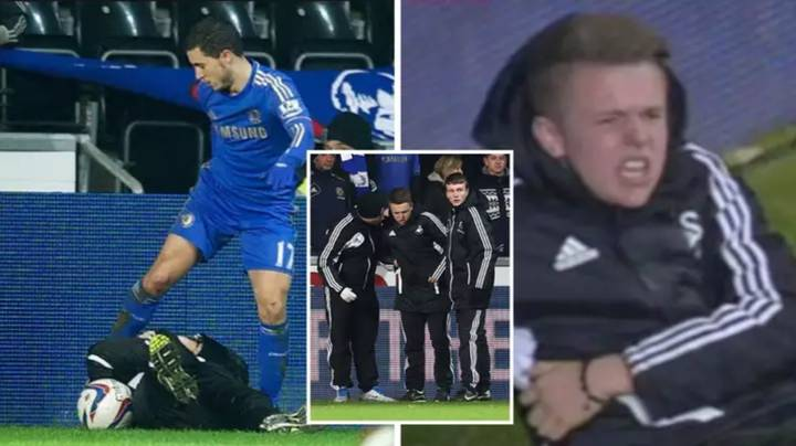 What Happened To Charlie Morgan: The Ballboy Kicked By Eden Hazard