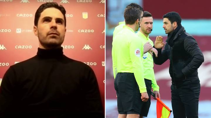 """""""We Completely Dominated The Game"""" Claims Mikel Arteta After Aston Villa Loss"""