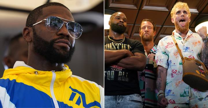 Floyd Mayweather Contacts Tyron Woodley And Offers To Train Him To Beat Jake Paul