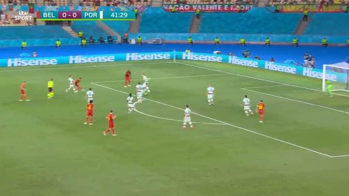 Thorgan Hazard Scores Thunderbolt To Put Belgium Ahead Of Portugal