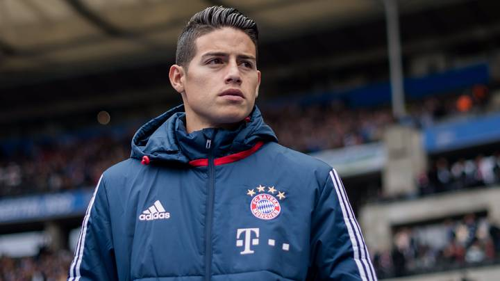 James Rodriguez Could Make Quite Unreal Move In January