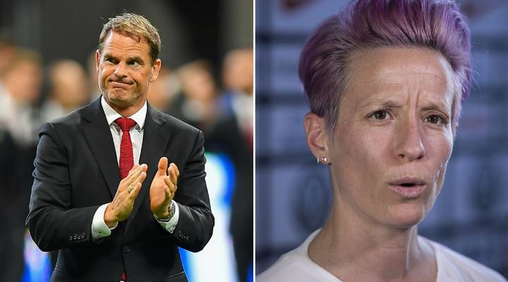 Frank De Boer Thinks Calls For Equal Pay In Women's Football Are 'Ridiculous'