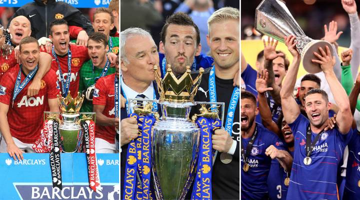 England's 9 Most Successful Clubs Of The Last Decade Revealed