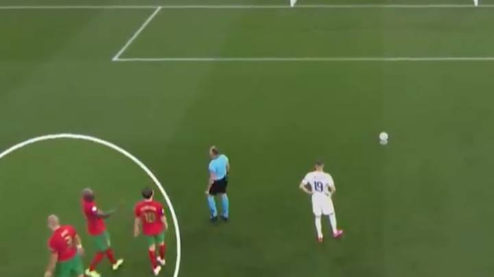 Video Shows Pepe Trying To Help Rui Patricio During Karim Benzema Penalty