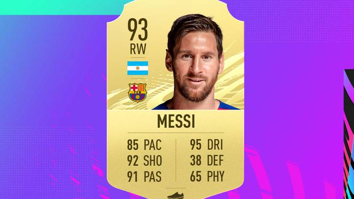 Lionel Messi Is No Longer The Best Passer On FIFA 21