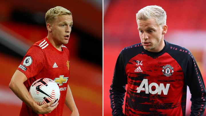 Donny Van De Beek's Agent Slams Lack Of Manchester United Minutes After Just Three Games