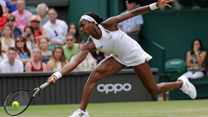 Cori Gauff Beats Polona Hercog at Wimbledon