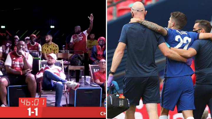 Arsenal Fan TV Slated For Celebrating Christian Pulisic's Injury In FA Cup Final