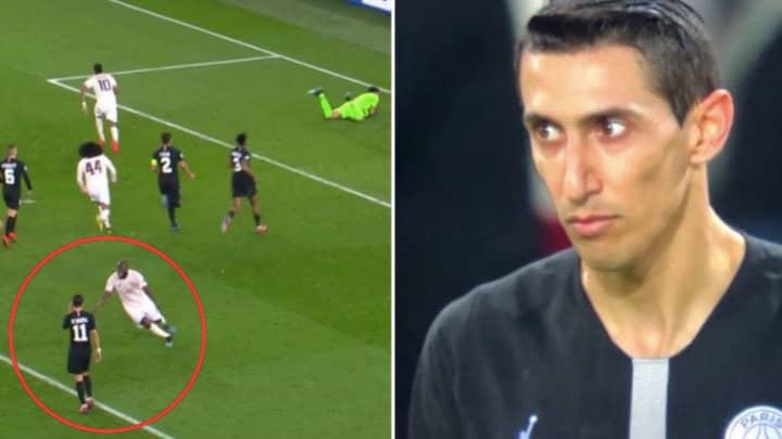 Romelu Lukaku's Ran Straight To Angel Di Maria After Marcus Rashford's Winning Penalty Against PSG, Two Years Ago