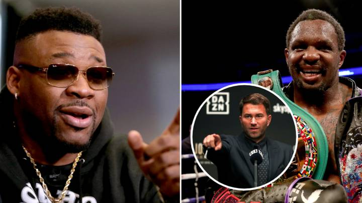 Eddie Hearn Shares The Text Jarrell Miller Sent Him After Dillian Whyte's Alleged Failed Drug Test
