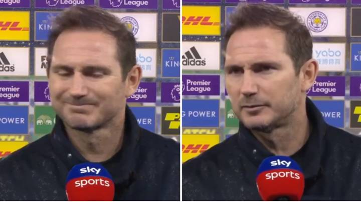 Fans Convinced Frank Lampard Will Get Sacked After Blaming Chelsea Players In Post-Match Interview