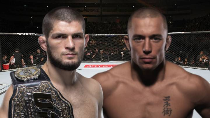 Khabib Nurmagomedov Wants UFC Mega-Fight With Georges St-Pierre In 2020
