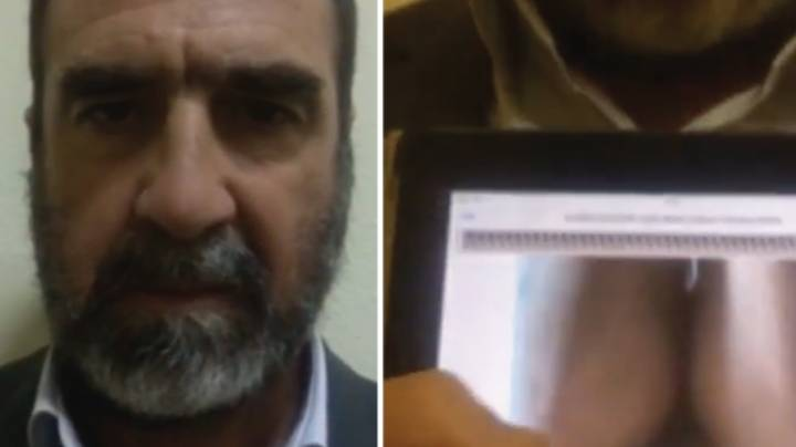 Eric Cantona Posts Bizarre X Rated Video Of Someone Smashing An Egg