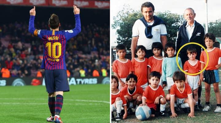 Lionel Messi Dedicates Every Single One Of His 671 Goals To Grandma Celia Sportbible