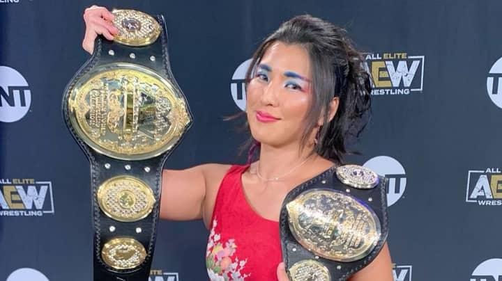 Wrestling Commentator Fired For Mocking Hikaru Shida's Japanese Accent