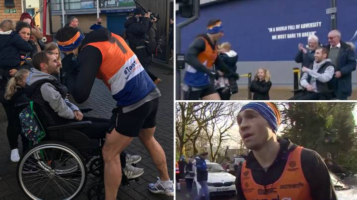 Kevin Sinfield Runs Seven Marathons In Seven Days, Raising Over £1 Million For Motor Neurone Disease